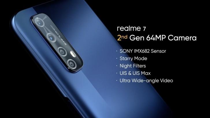 Realme 7 fotoaparát