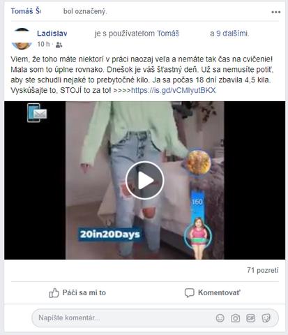 Podvod na facebooku 1