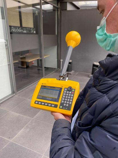 Takýmto prístrojom meria O2 intenzitu žiarenia svojej 5G siete