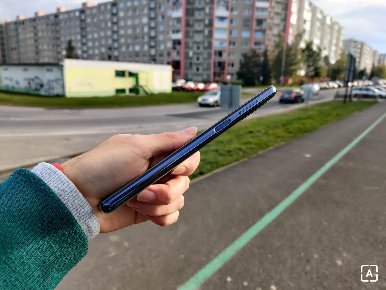 Samsung Galaxy M51 skener odtlačkov