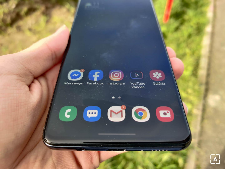 Samsung Galaxy M51 displej
