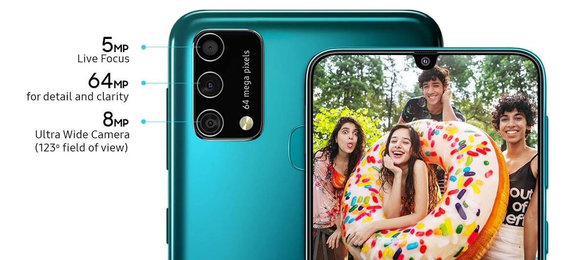 Samsung Galaxy F41 fotoaparát