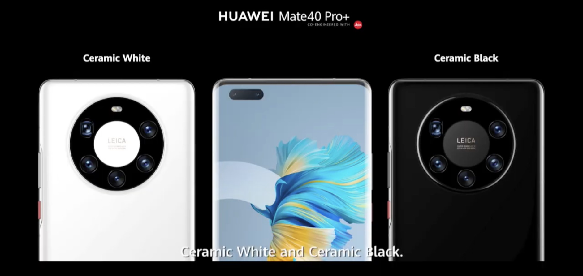 huawei mate 40 pro plus farby