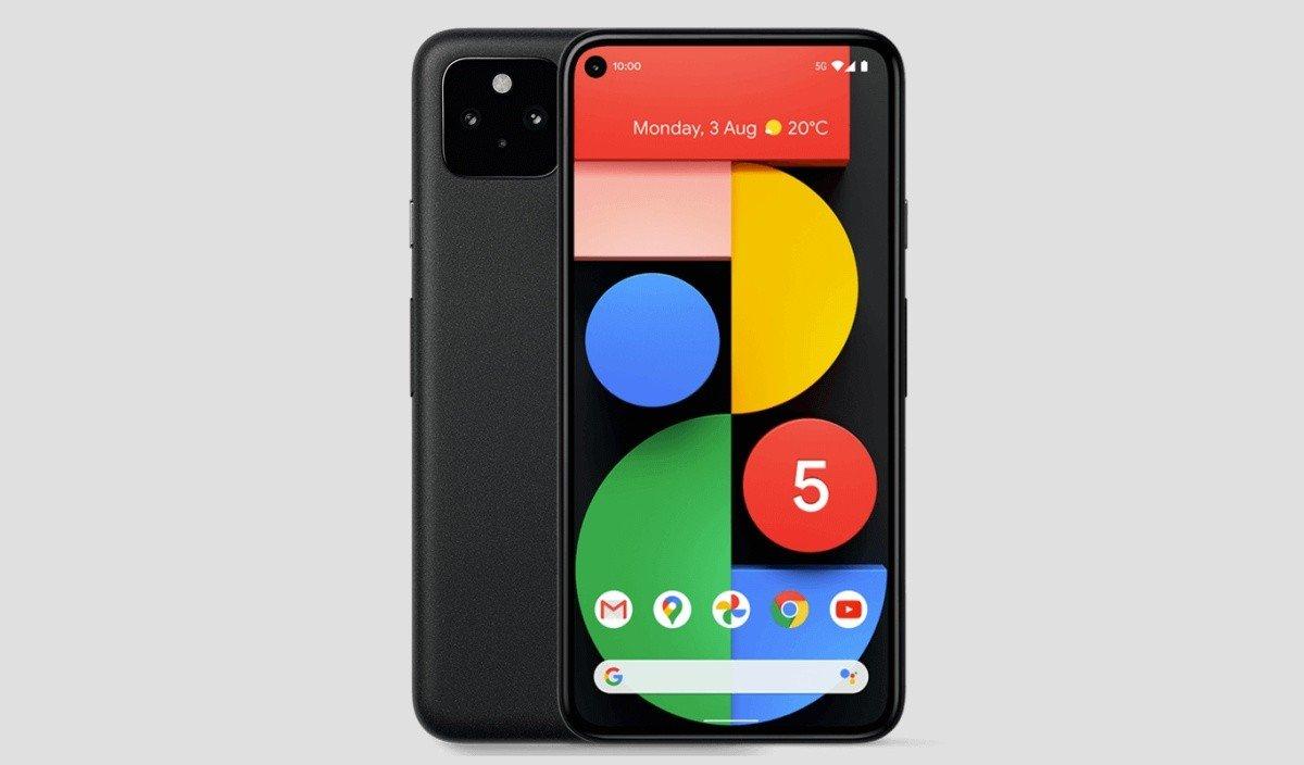 Google Pixel 5 displej