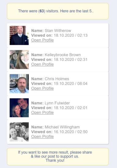 Čo sa stane, ak kliknete na podvod Facebook 2