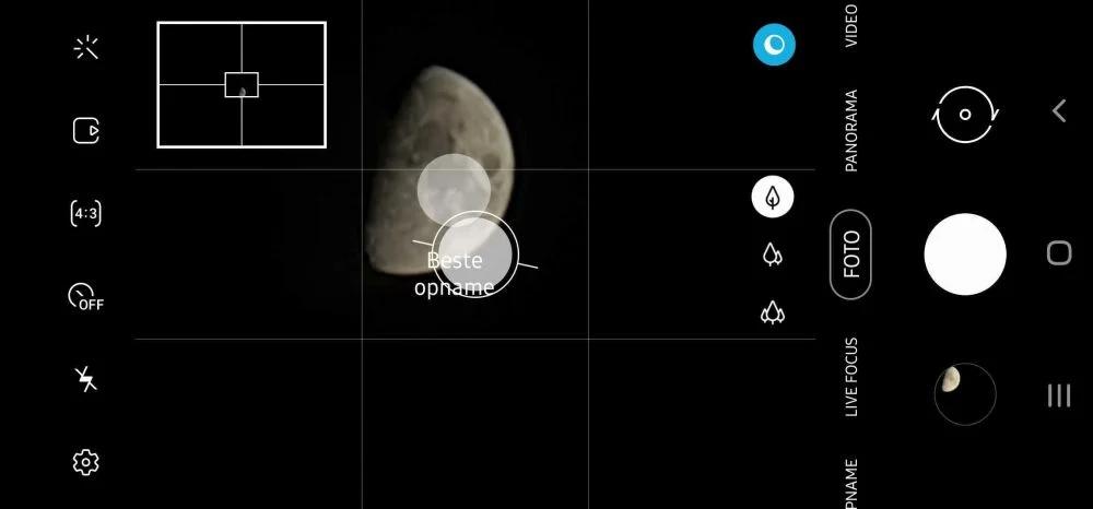 Samsung Moon mode