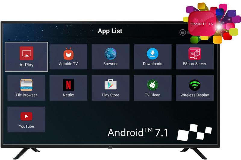 Vivax LED TV-55UHD122T2S2SM