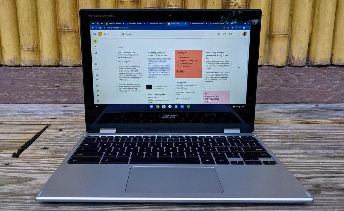 Google Keep Chromebook