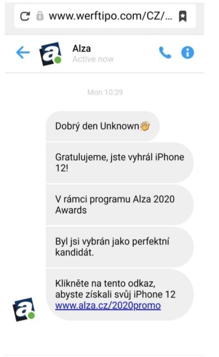 alza-podvod-sms