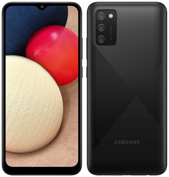 Samsung Galaxy A02s čierny