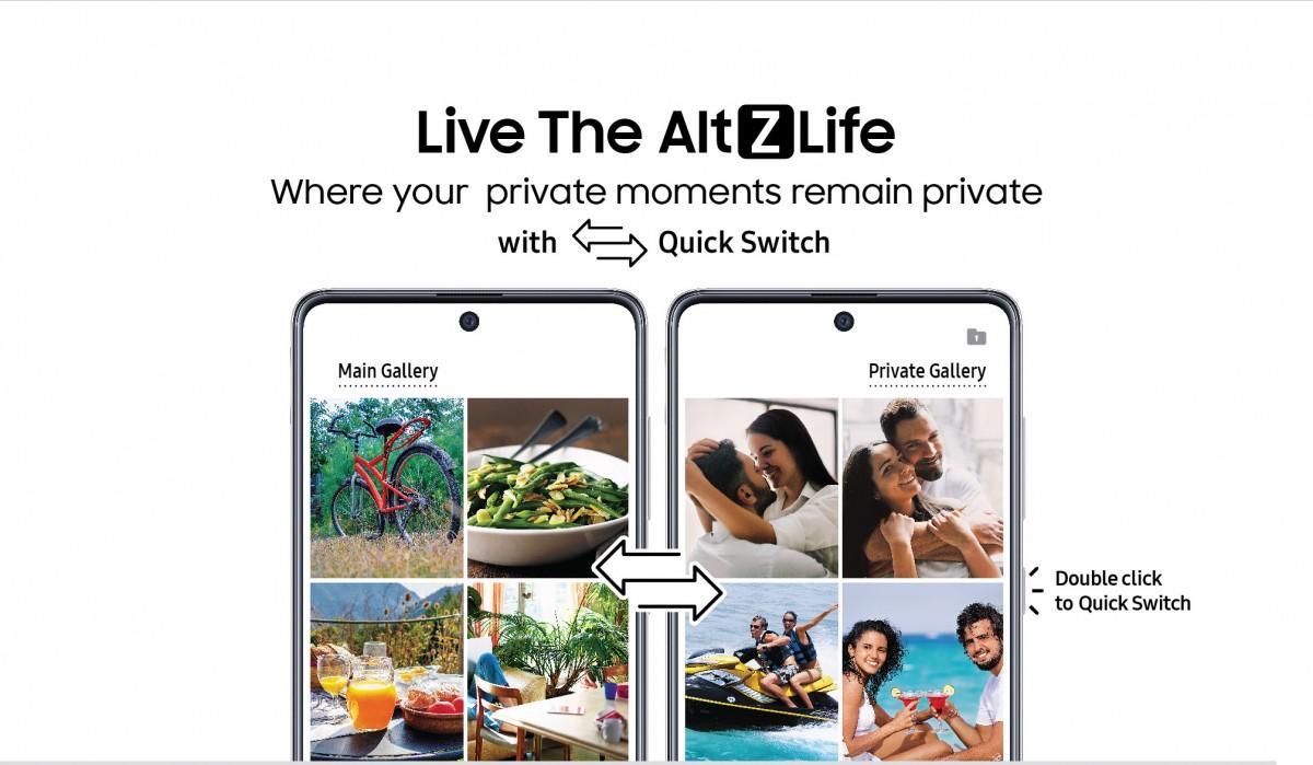 Alt Z Life Samsung