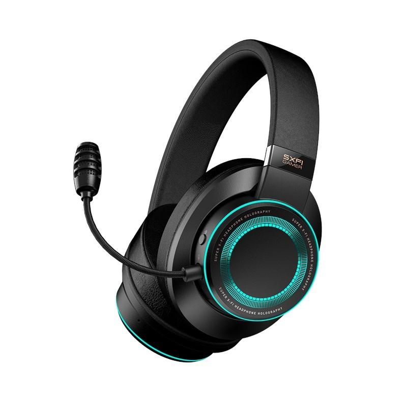 slúchadla headset Creative Super X-FI Gamer