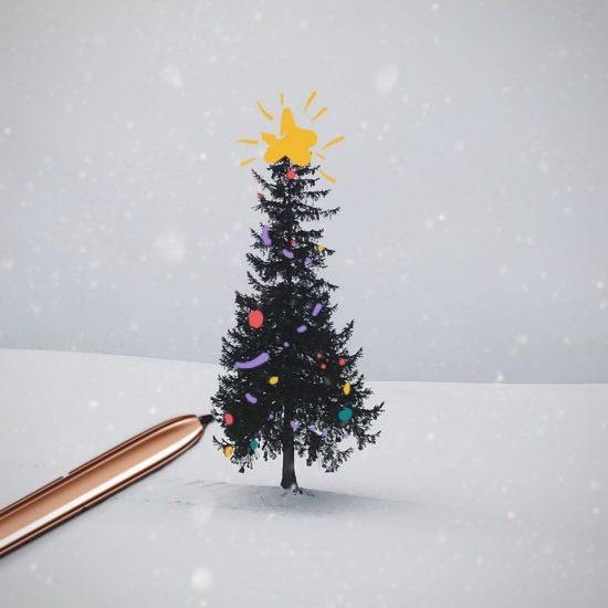 Samsun želá veselé Vianoce s perom S-Pen