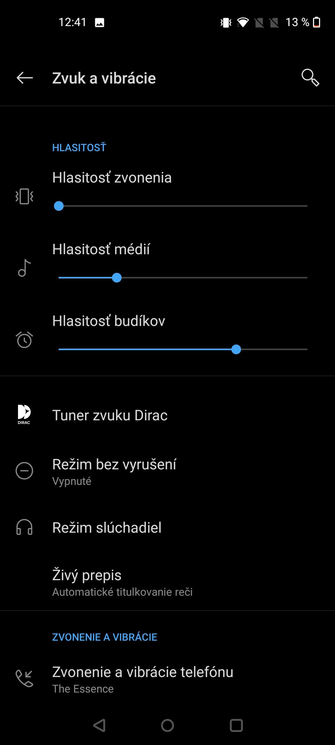 Nord N10 screenshot zvuk (1)