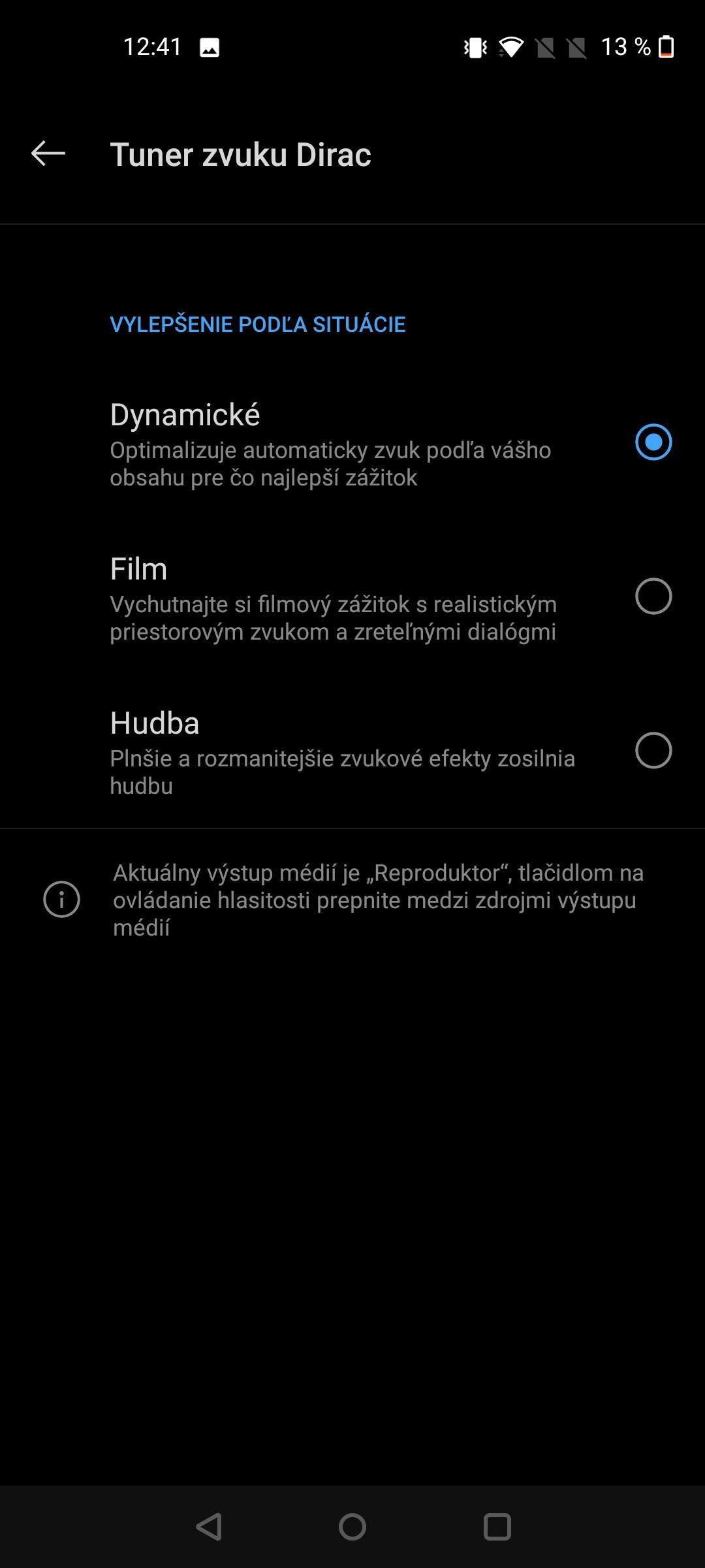 Nord N10 screenshot zvuk (2)
