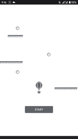 Mini hra s balónom