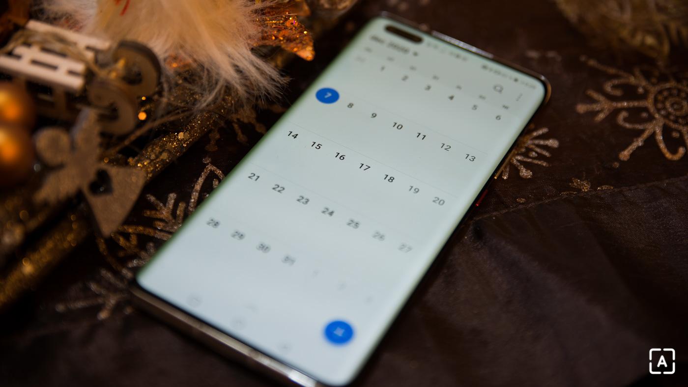 huawei kalendar
