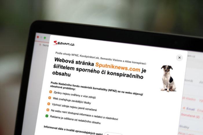 Seznam.cz upozorní na dezinformačné weby