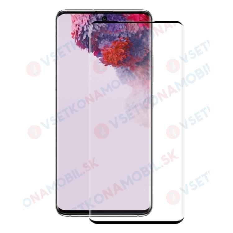 3D Tvrdené sklo Samsung Galaxy S20 Plus čierne