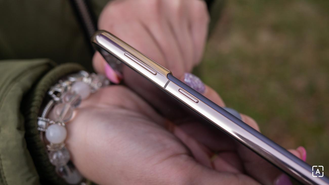 Samsung Galaxy S21 5G hardverove tlacidla