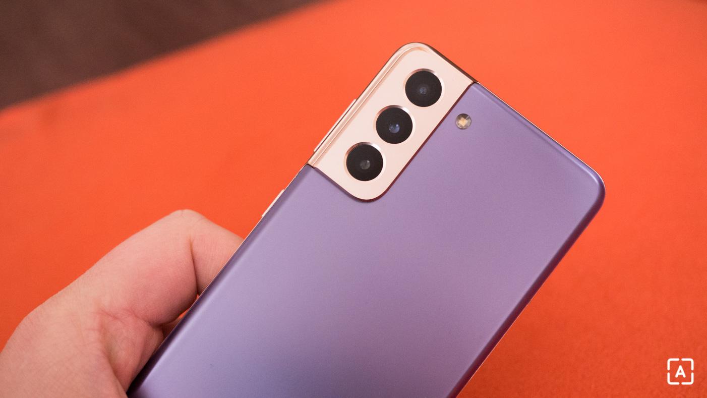 Samsung Galaxy S21 5G fotoaparat