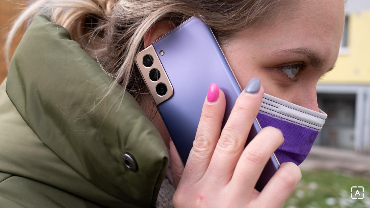 Samsung Galaxy S21 5G telefonovanie