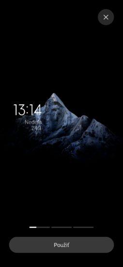 MIUI 12.5 super pozadia