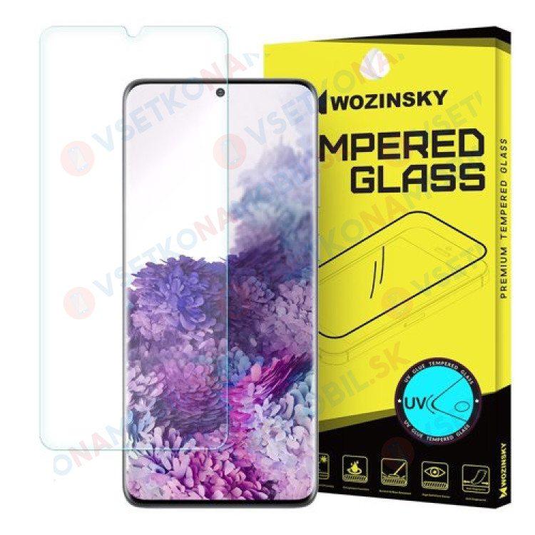 UV Temperované sklo Samsung Galaxy S20 Plus