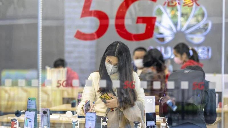 predaje smartfónov Huawei 5G