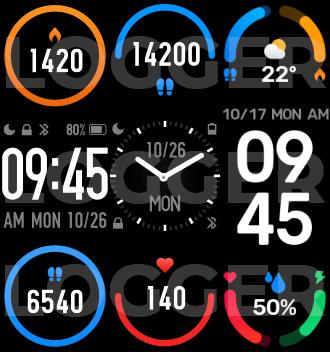 Xiaomi Mi Band 6 grafika