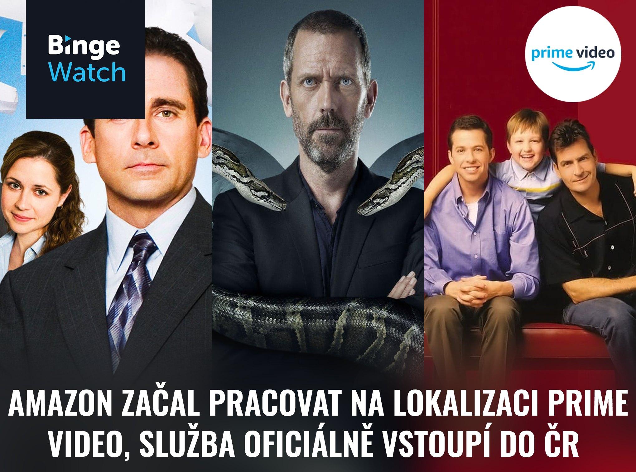 Amazon Prime Video český dabing