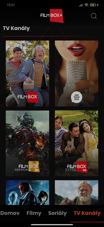 Filmbox+ kanály