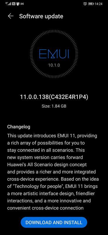 Huawei Mate 20 Pro EMIU 11