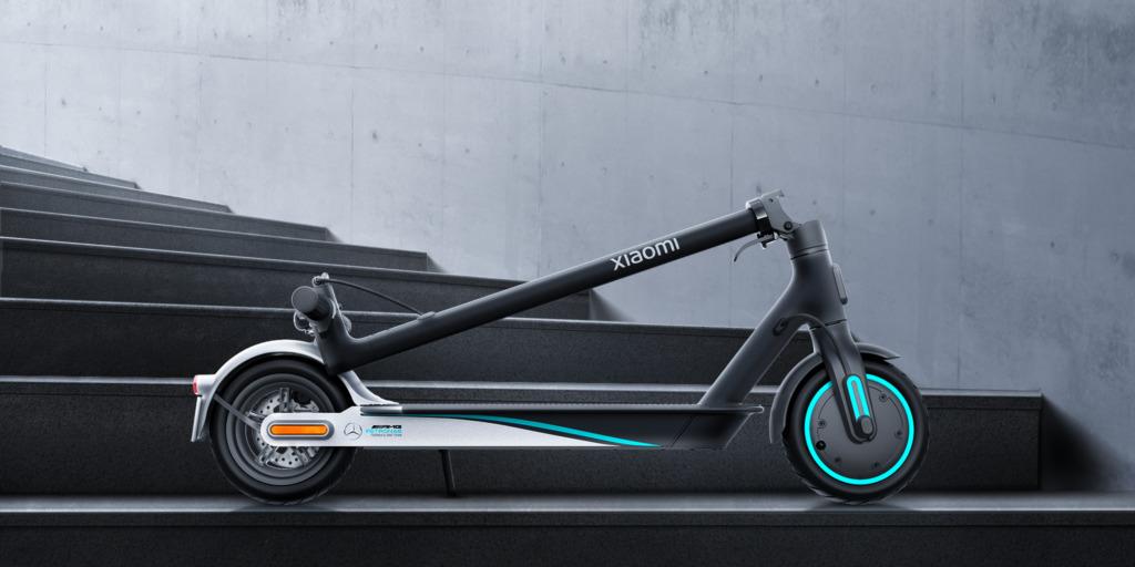 Xiaomi F1 AMG-Mercedes kolobežka