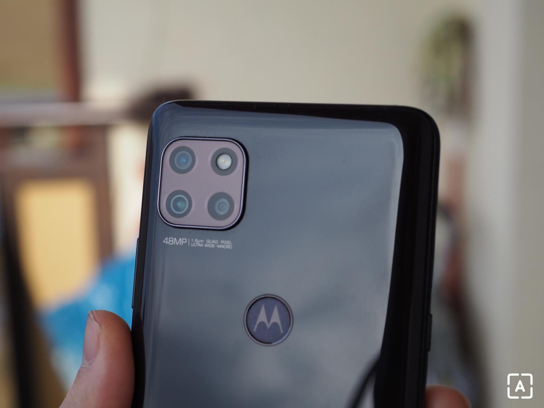 Motorola moto g 5G fotoaparát