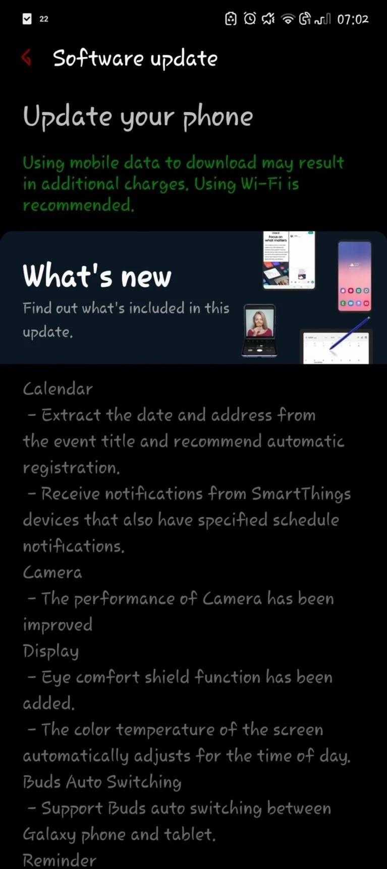 Samsung Galaxy Note 10 One UI 3.1
