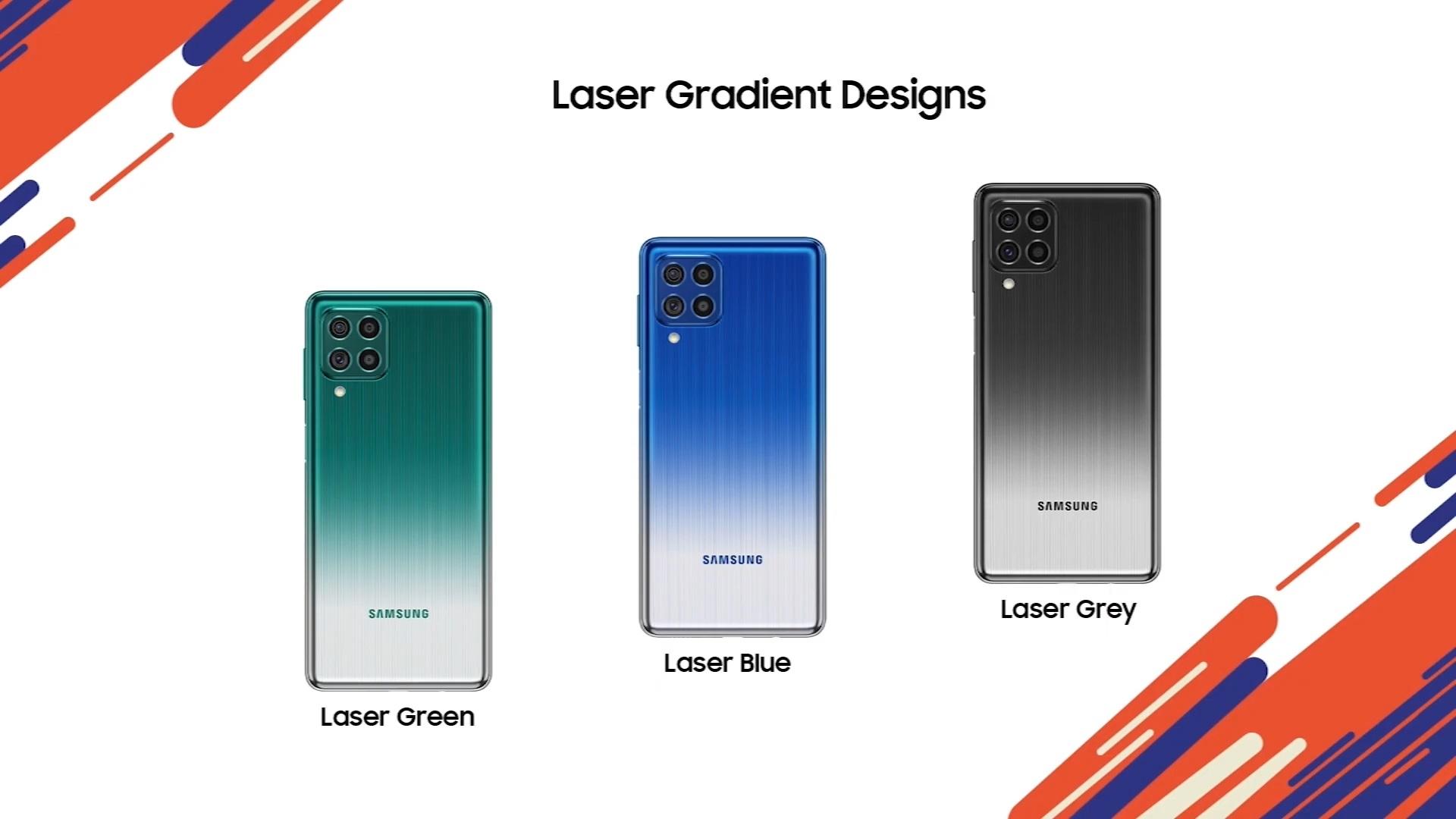 Samsung Galaxy F62 farby