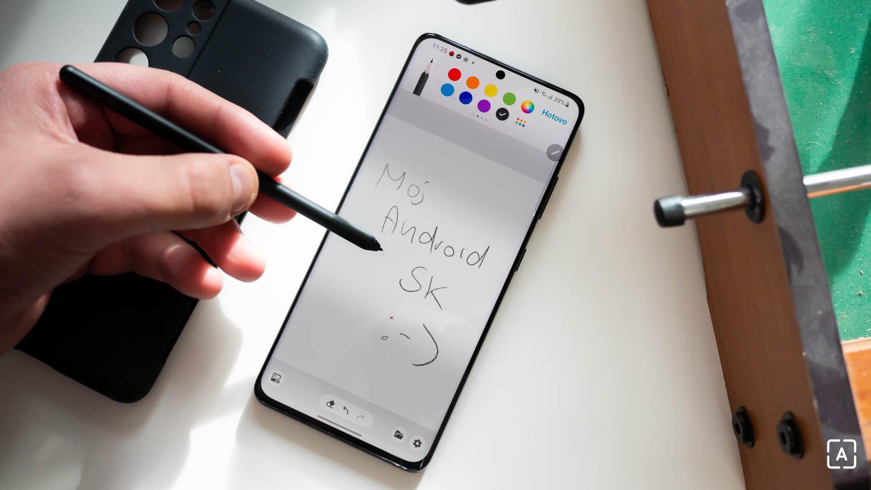 Samsung Galaxy S21 Ultra pero S Pen