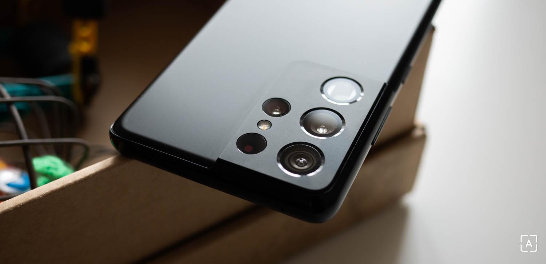 Samsung Galaxy S21 Ultra fotoaparat