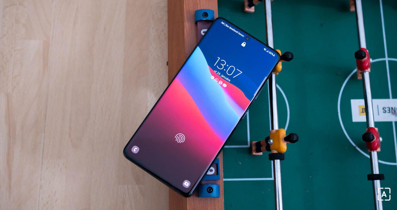 Samsung Galaxy S21 Ultra displej
