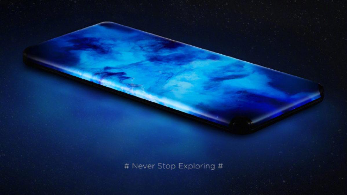 Xiaomi koncept bez tlačidiel