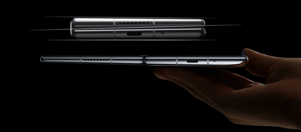 Huawei Mate X2 konštrukcia