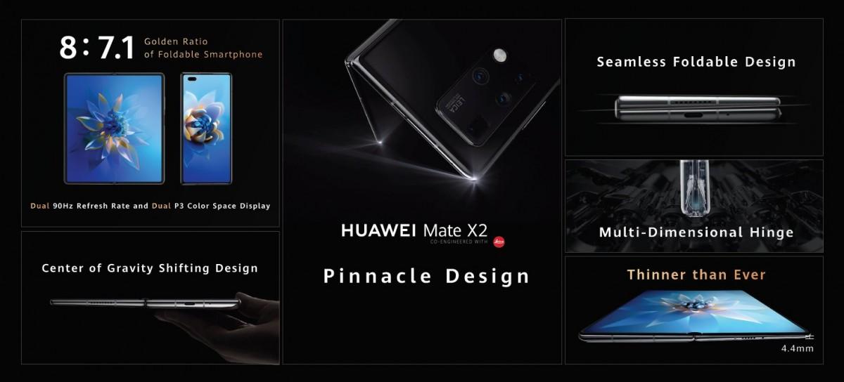 Huawei Mate X2 dizajn