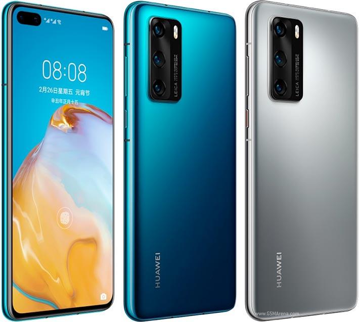 Huawei P40 4G farby