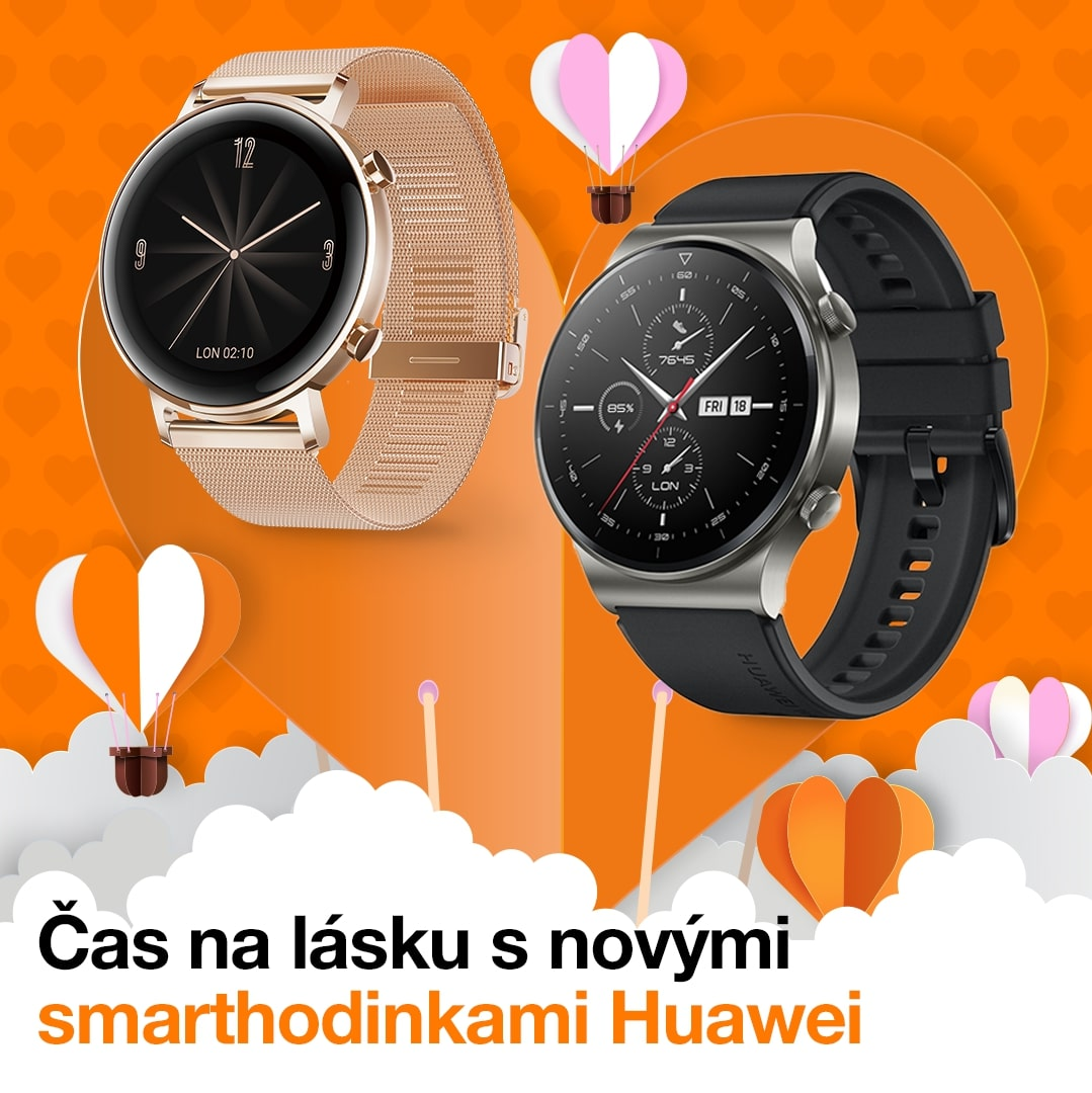 huawei watch gt 2 valentin orange