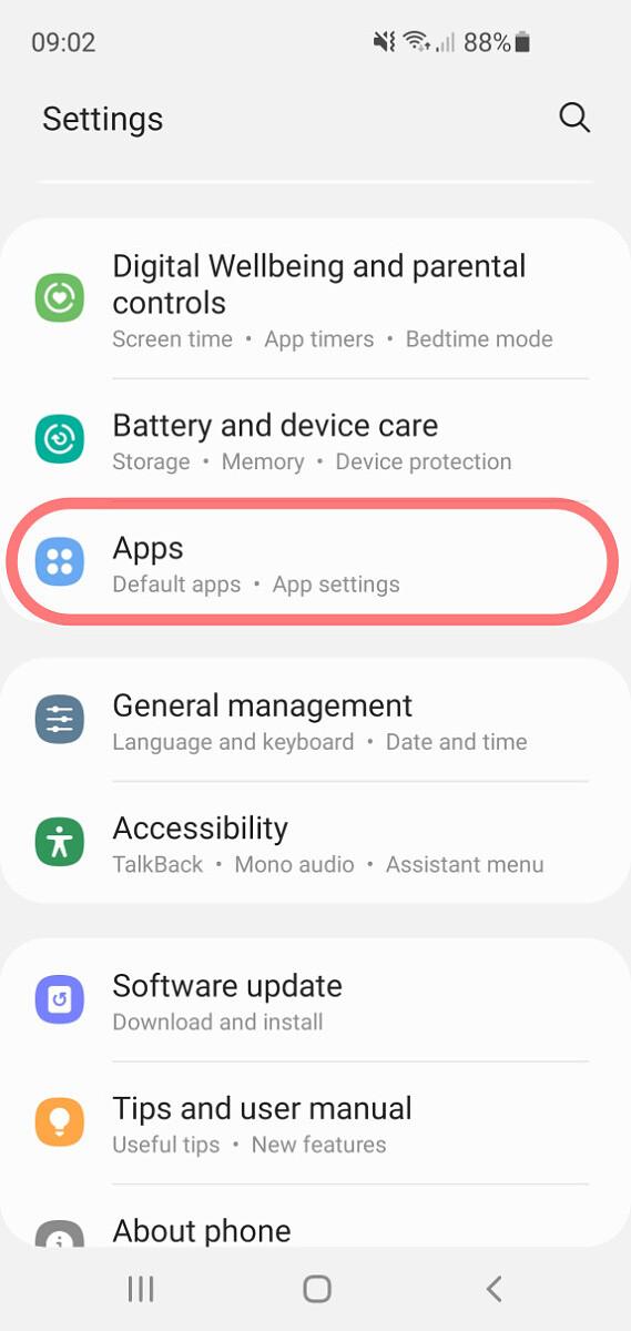 samsung ukončovanie aplikácií
