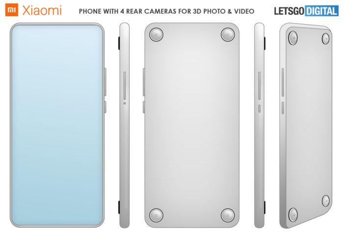 Xiaomi 3D fotoaparáty patent