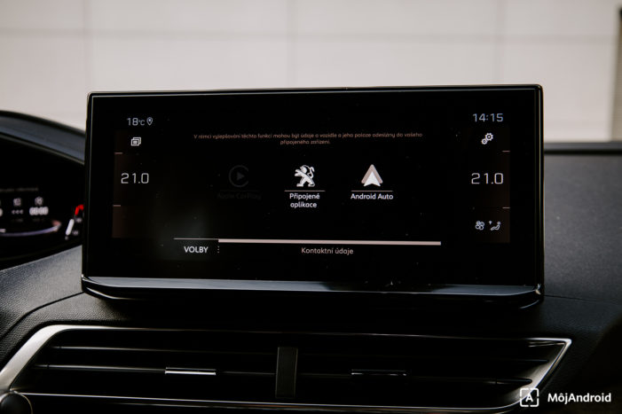 Peugeot 3008 Facelift Android Auto