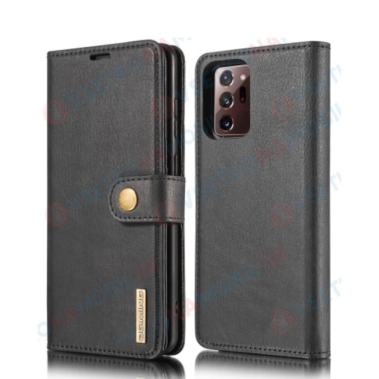 DG.MING Peňaženkový obal 2v1 Samsung Galaxy Note 20 Ultra čierny