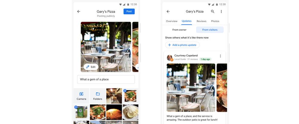 Google foto-aktualizácie